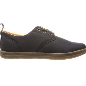 Dr Martens Aldgate Black Nylon 3 Eye Shoes Size 8